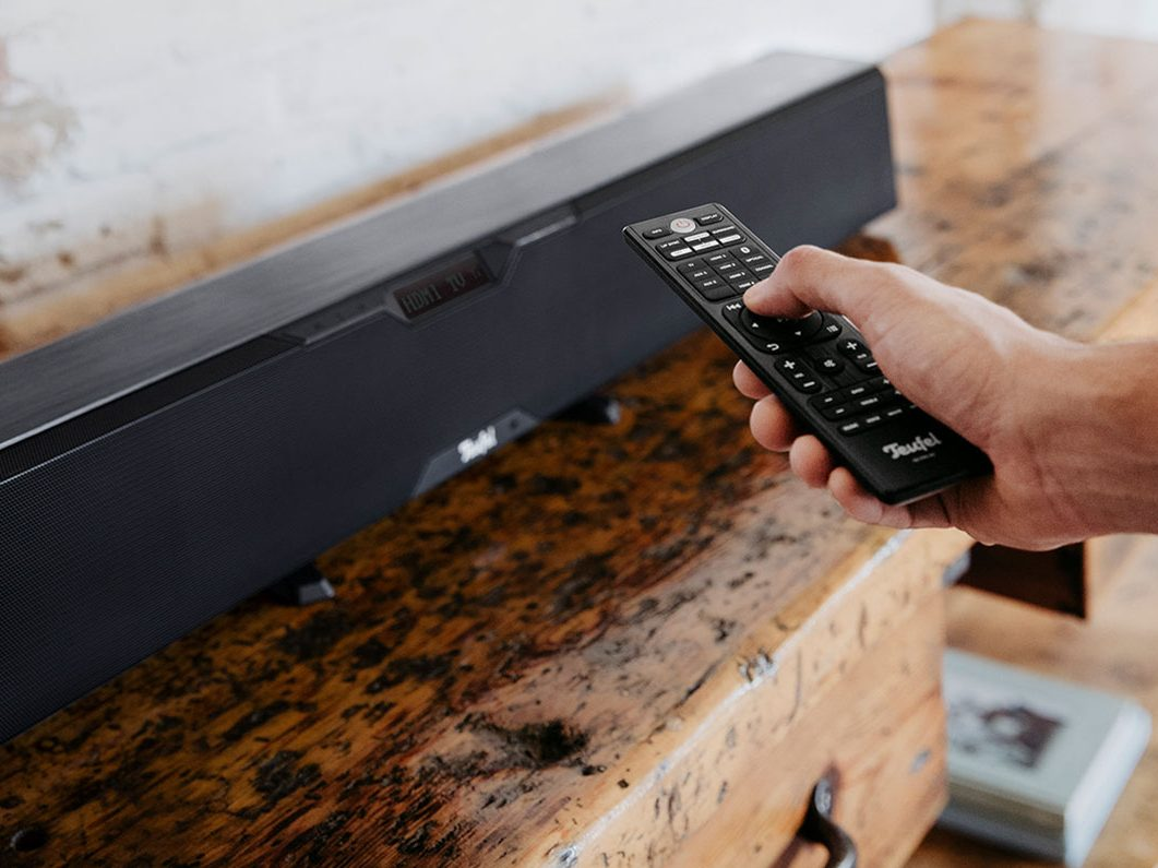 Connecter la Cinebar Pro via HDMI